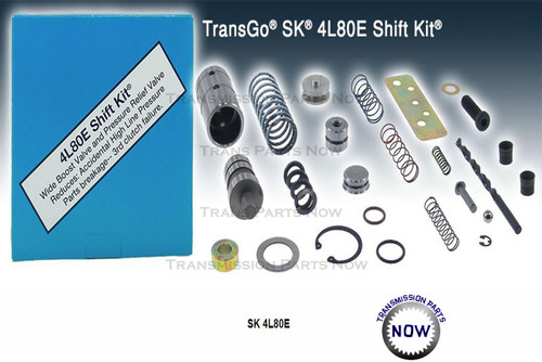 Transmission Parts, Shift Kits, Transgo, valve body, 1500, 2500, Silverado, Sierra, Suburban,  Heavy Duty, Shift upgrades, Sk4L80E, SK4L80, 4L80, 4L80E, 4L85, 4L85E