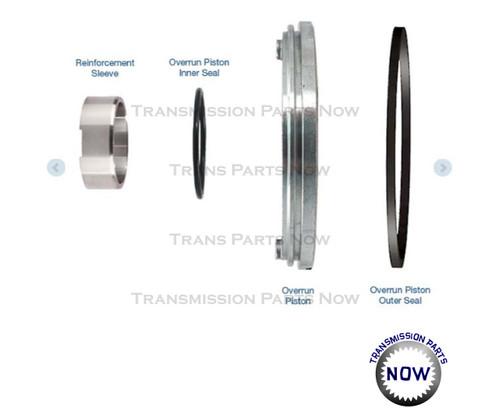 Sonnax, Sonnax transmission parts, Sonnax input drum reinforcement kit, 77733-51K, 4L60, 4L60E, 4L65E, GM, Chevy
