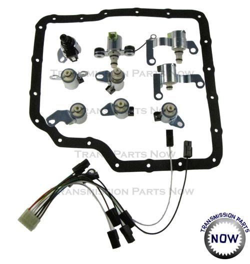 Rostra Precision Controls,N88, N89, N90, N91, N92, N93, N281, N282, N283, JF506E, 09A, Transmission parts, Transmission repair, solenoid set, solenoid kit, 98420, 52-9043, VW,Golf, GTI, Jetta , Jag, Freelander, JF506E transmission