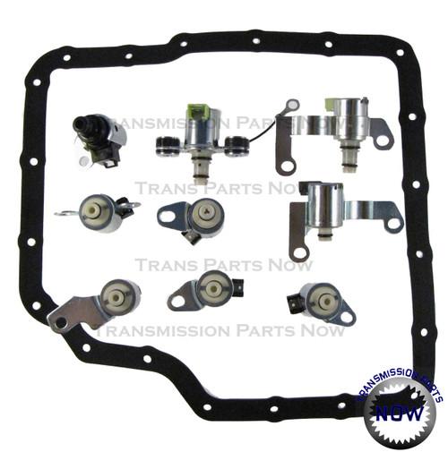 Jatco, JF506E,52-9046,Solenoid, transmission repair, Solenoid kit, N88, N89, N90, N91, N92, N93, N281, N282, N283,Rostra, Jetta, Freelander