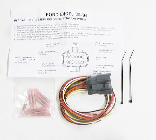 Solenoid Connector Repair Kit 1989-1994