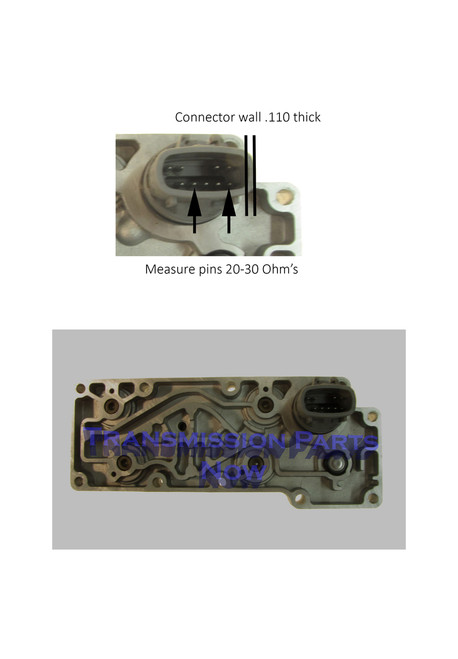 Ford E4OD solenoid connector ID.  E9TP-7G391-CA, R36420