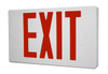 LED Exit Sign with Red Letters and Battery Backup
