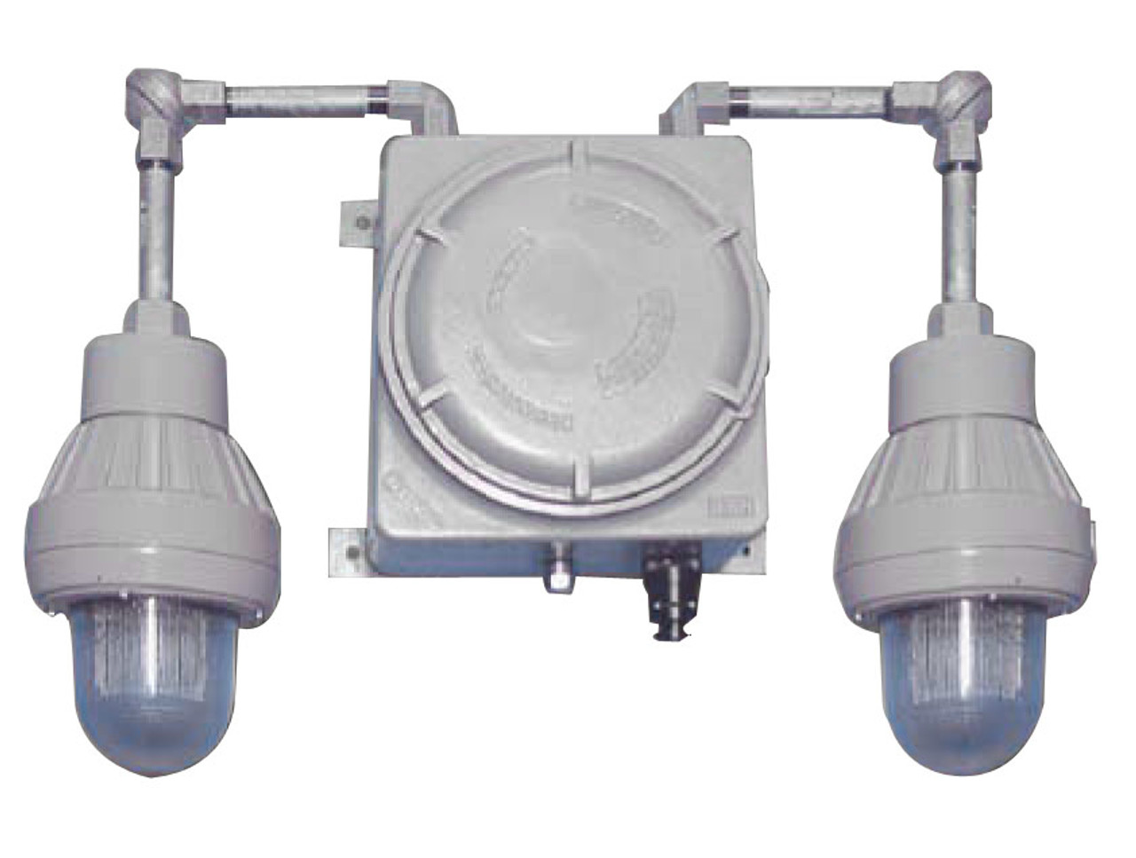 Class 1 Division 1 Emergency Light with Two Lamps