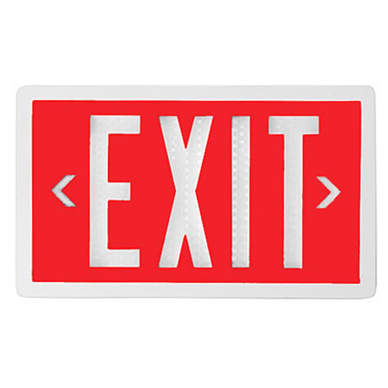 Self Luminous Tritium Exit Sign