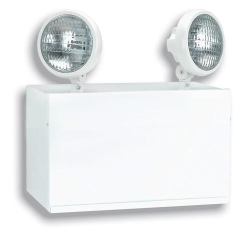 Steel Emergency Light with (2) 55W H3 Halogen Lamps