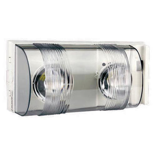 Emergency Light with Polycarbonate Lens