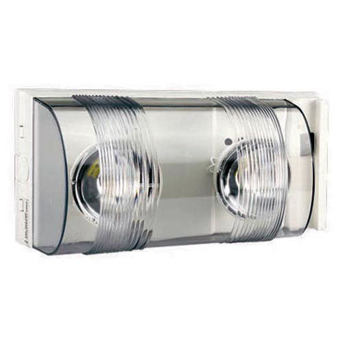 Durable Polycarbonate Lensed Emergency Light