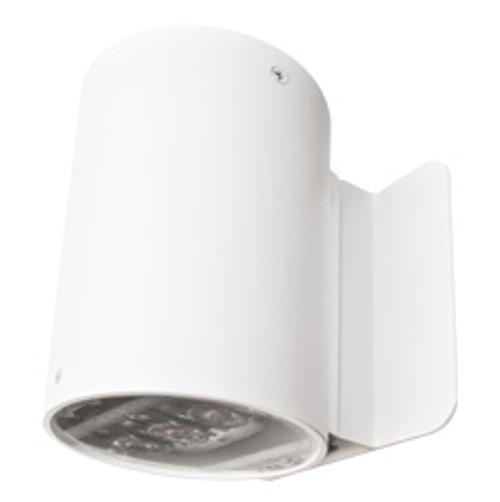 Cylindrical Emergency Light with Wall Mount