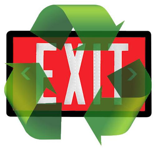 Tritium Exit Sign Disposal