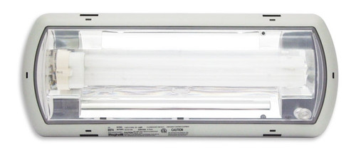 NEMA 4X Fluorescent Emergency Light with Drywall Recessed Pan