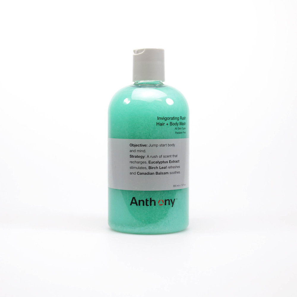 Anthony Invigorating Rush Hair & Body Wash