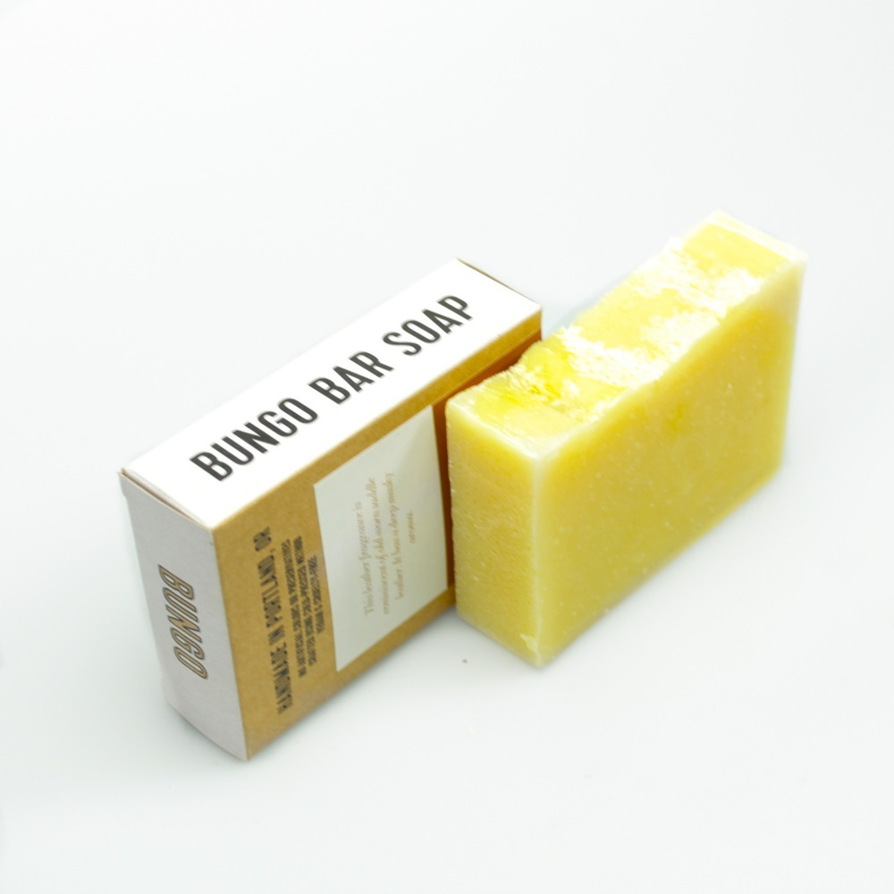 Bungo Bar - Leather Soap