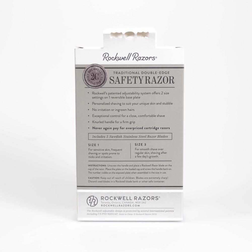Rockwell Razor 2C Gunmetal Razor