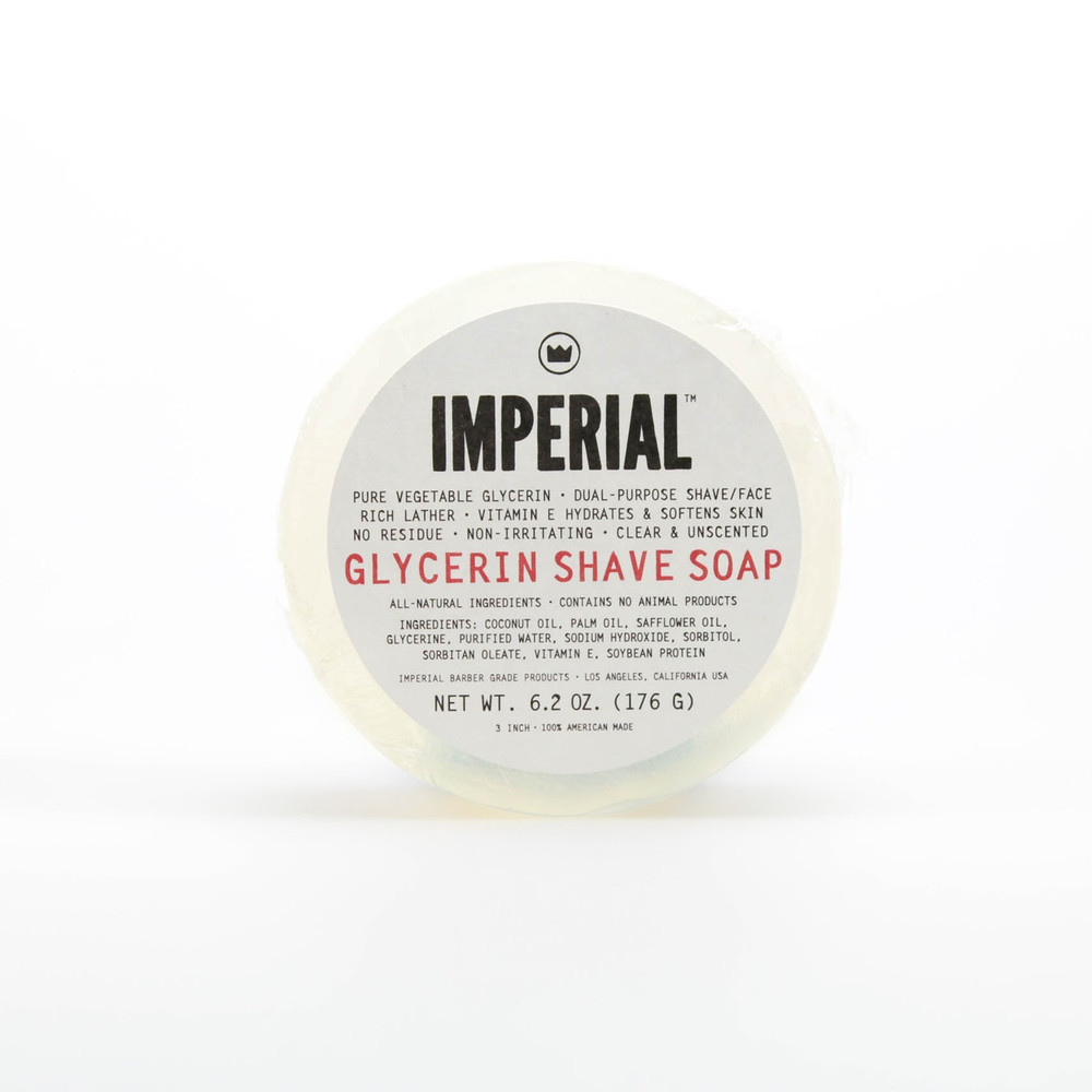 Imperial Glycerin Shave Soap