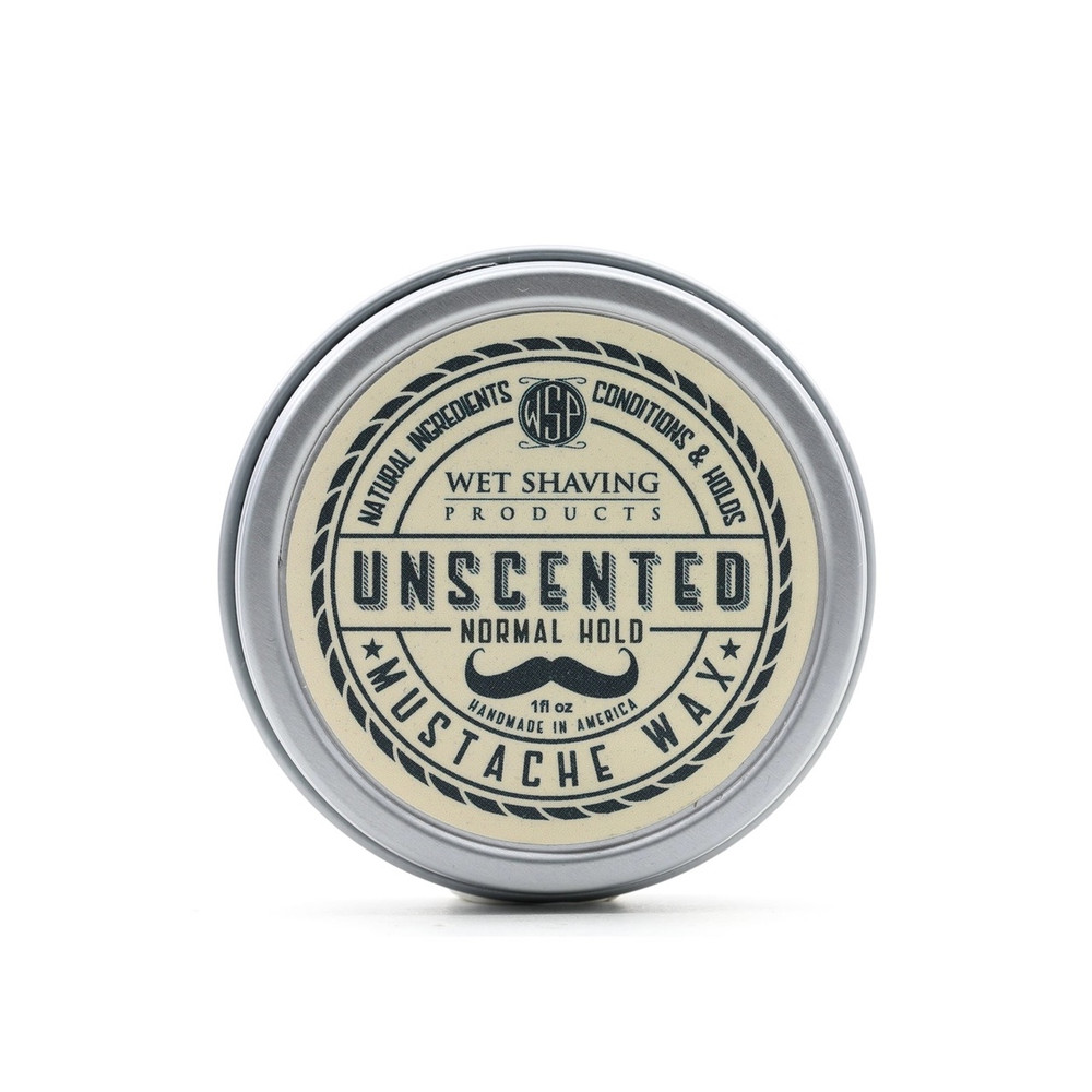 Wet Shaving Products Unscented Mustache Wax