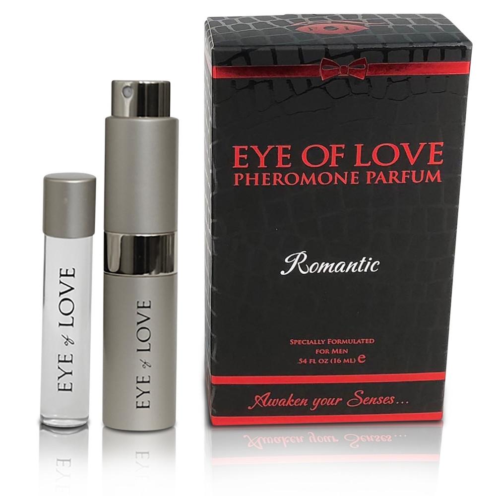 Eye of Love Pheromone Traveler Cologne w/ Refill - Romantic