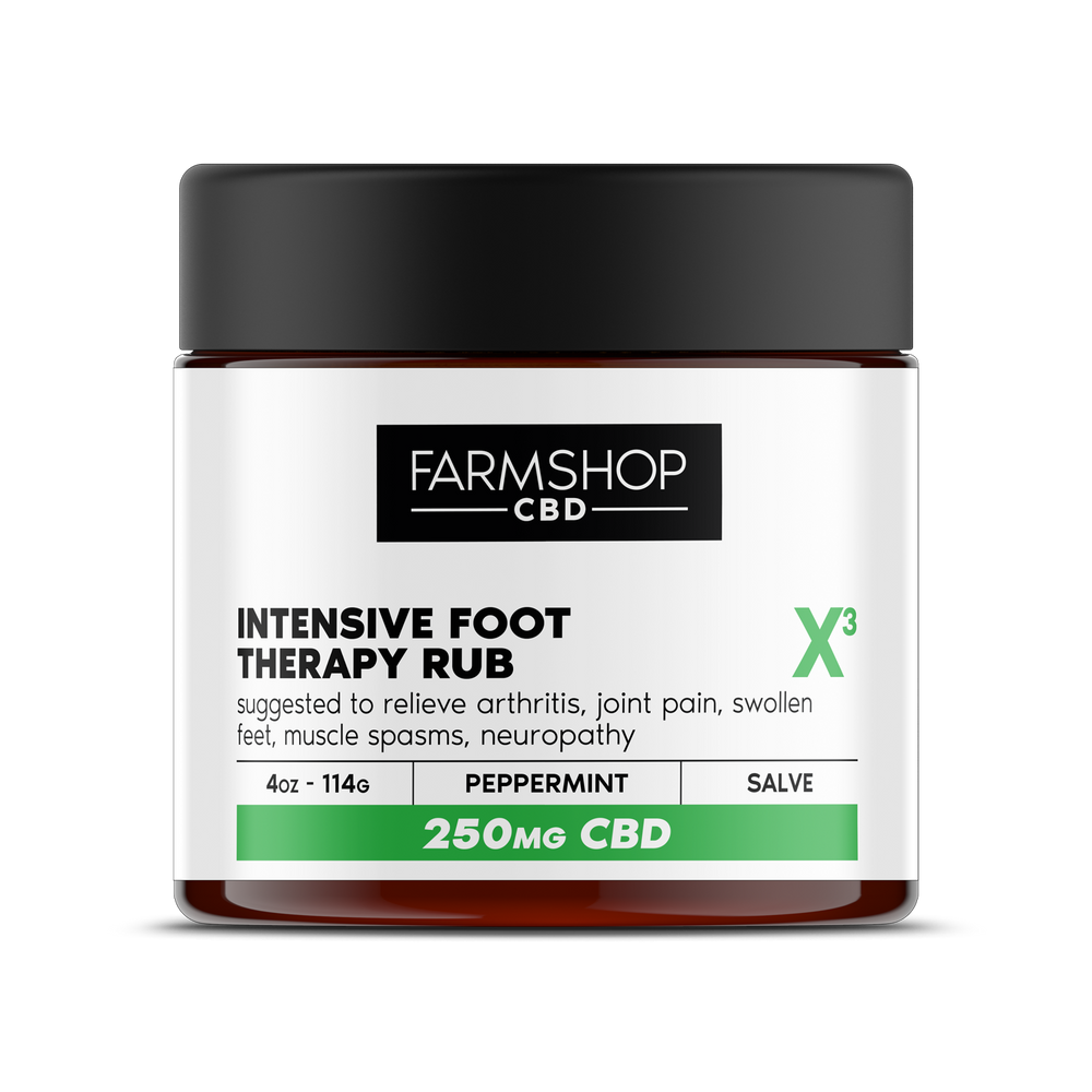 Farmshop CBD Intensive Foot Therapy Rub