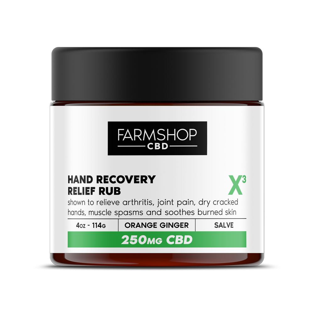 Farmshop CBD Hand Recovery Relief Balm