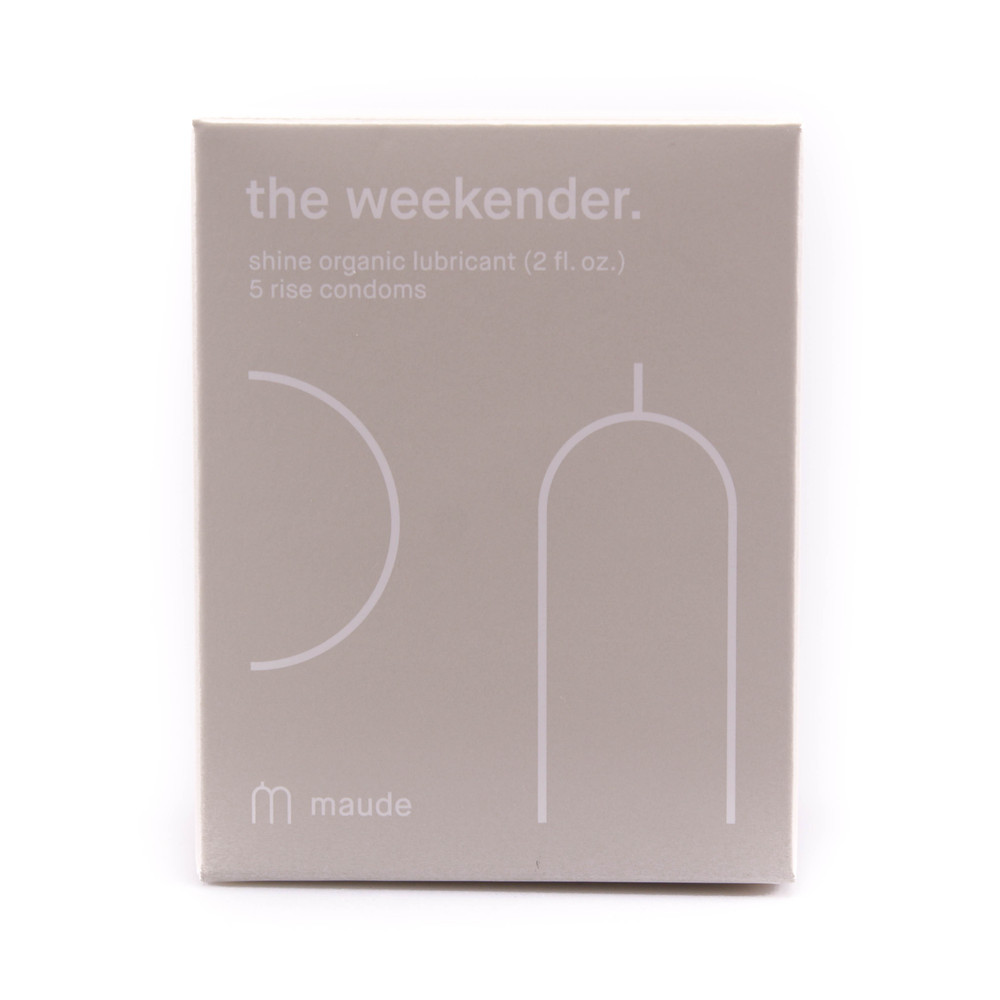Maude – The Weekender Condom and Lube Kit