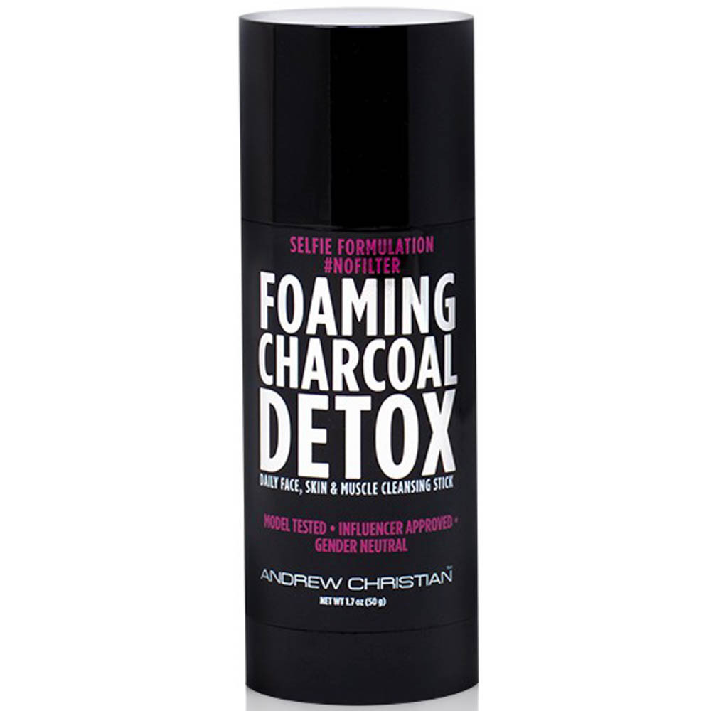 Andrew Christian Foaming Charcoal Detox Cleansing Stick