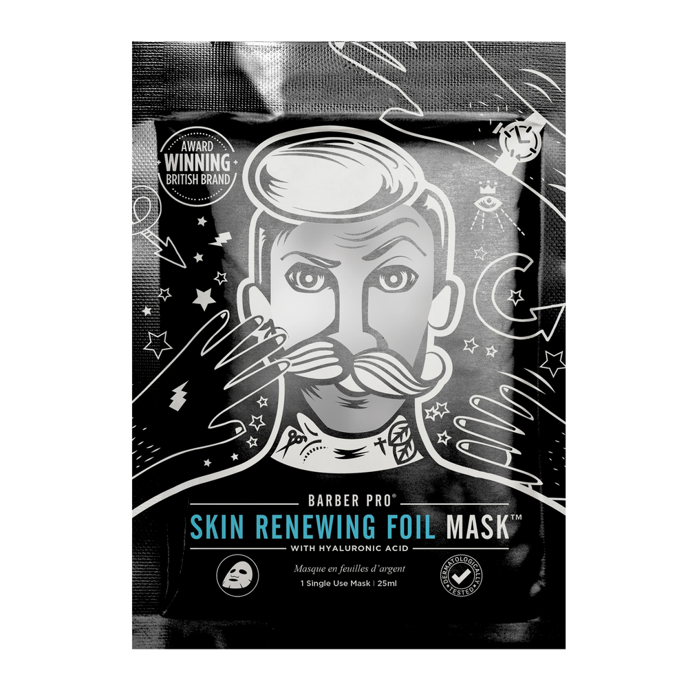 Barber Pro Skin Renewing Foil Mask