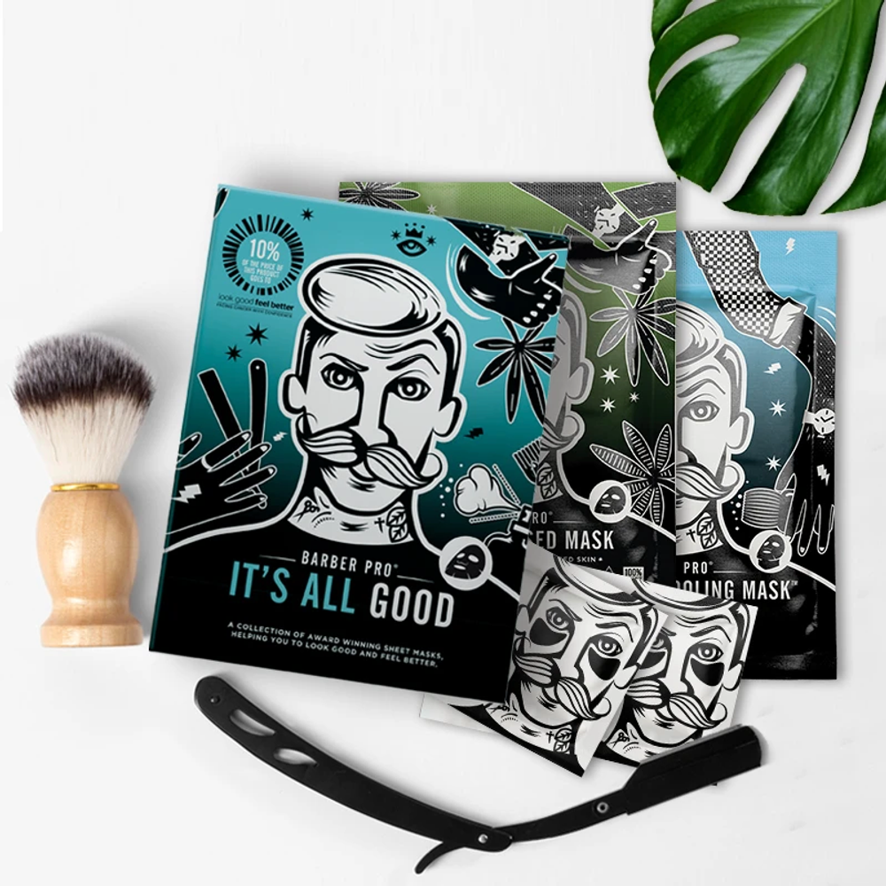 """Barber Pro """"It's All Good"""" Gift Set"""