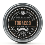 Wet Shaving Products Hercules Hold Mustache Wax - Tobacco