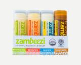 Zaambeezi Organic Beeswax Lip Balm Set