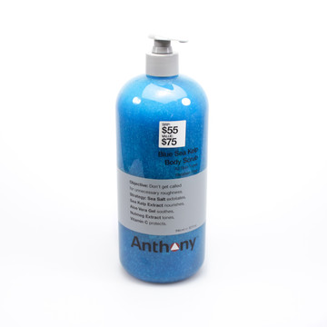 Anthony Blue Sea Kelp Body Scrub - Promo Size