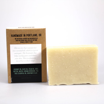 Bungo Bar - Tea Tree Soap