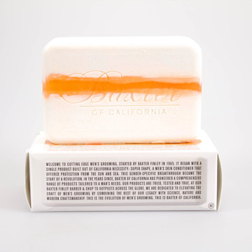 Baxter of California Vitamin Cleansing Bar Citrus & Musk