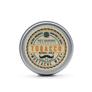 Wet Shaving Products Tobacco Mustache Wax