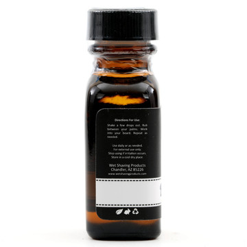 Wet Shaving Products Black Amber Beard Oil