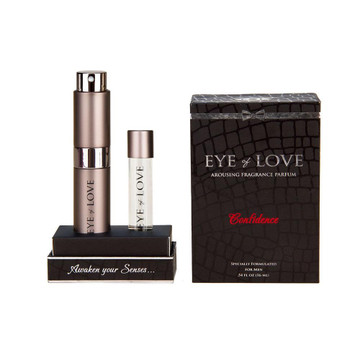Eye of Love Pheromone Traveler Cologne w/ Refill - Confidence