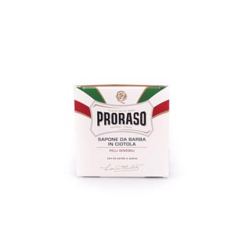 Proraso Sensitive Skin Shave Soap in a Bowl