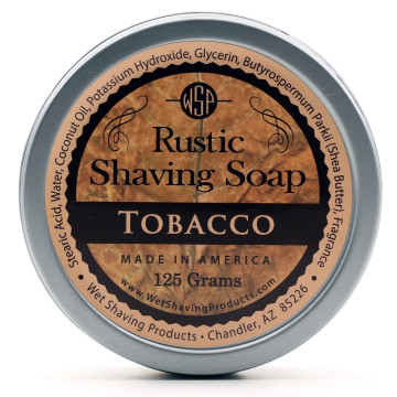 Wet Shaving Products Tobacco Rustic Shave Soap