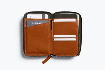 Bellroy Travel Folio Passport - Caramel