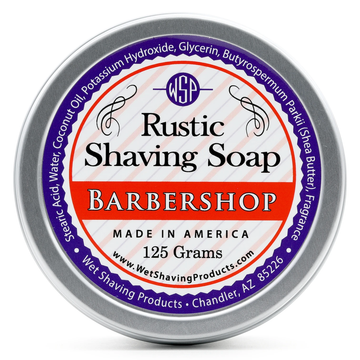 Wet Shaving Products Rustic Shave Soap - Barbershop