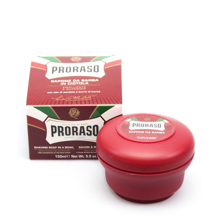 Proraso Exfoliating & Nourishing Shave Cream in a Jar