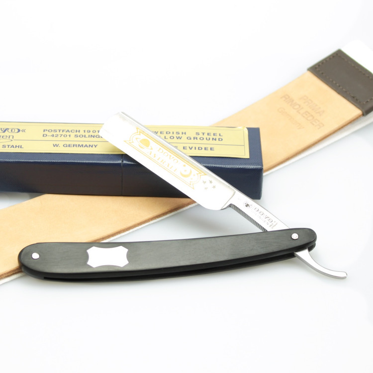 Dovo Ebony Straight Razor