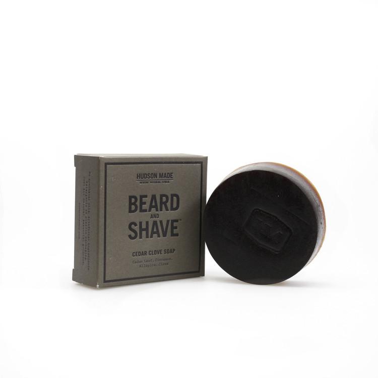Hudson Made Cedar Clove Beard & Shave Soap