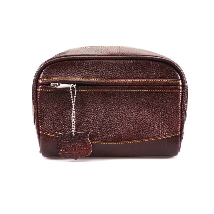 Parker Leather Toiletry Bag