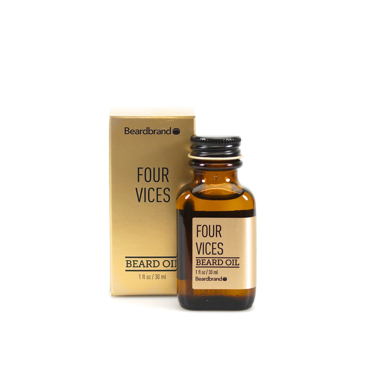 Beardbrand Four Vices Beard Oil