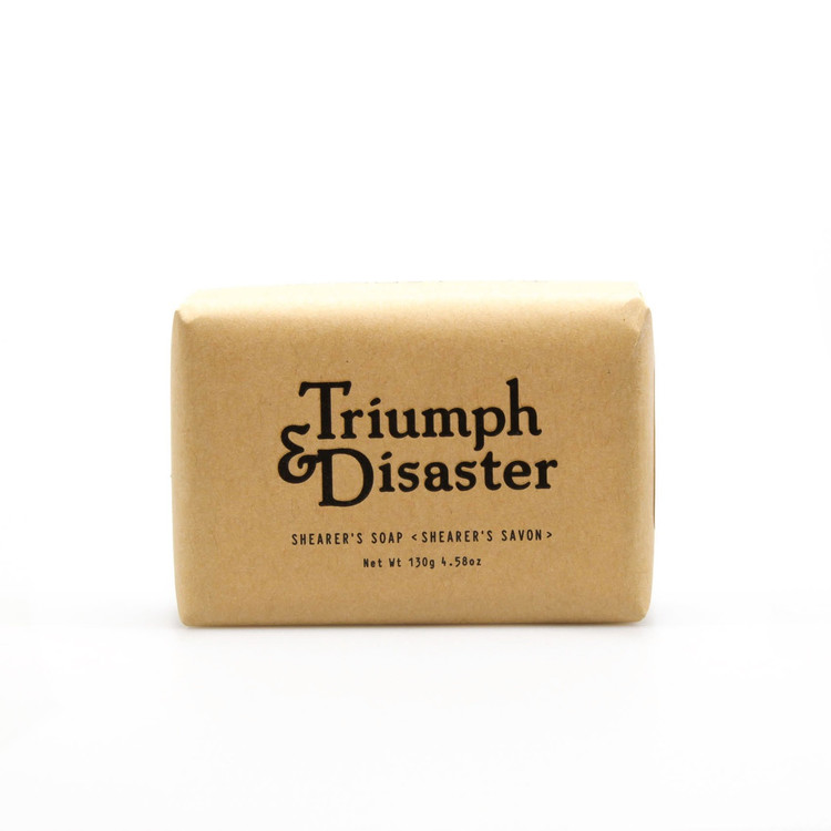 Triumph & Disaster Shearer's Soap