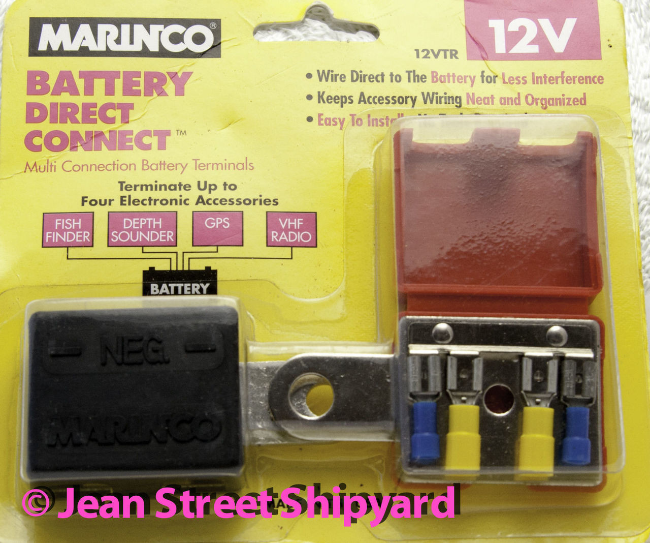 Marine Boat Rod 6 Gang Nickel Screw 12 Terminal Connection Junction Wiring Block For 13571