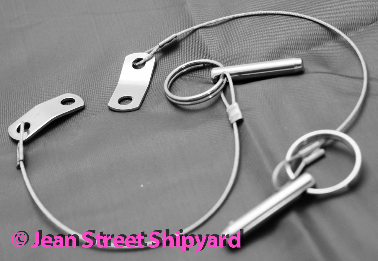 Boat Marine Stainless Steel Cable ONLY for Bimini Quick Release Pins