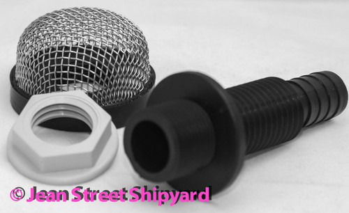 Marine Fishing Boat Aerator Filter Strainer with Mount