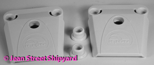 2 PK Genuine Igloo Replacement Cooler Latches Size 28,36,40,48,54,72,94,128, 162