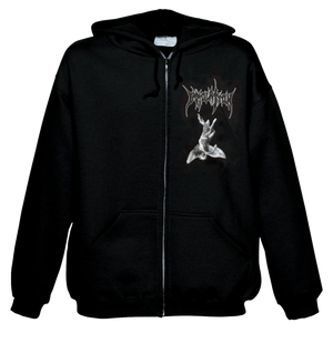 "Zip Hoodie: ""Dawn of Possession"" - Demon/Angel"